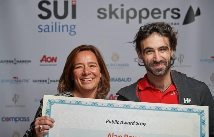 Alan reçoit le Prix du Public aux SUI Sailing Awards
