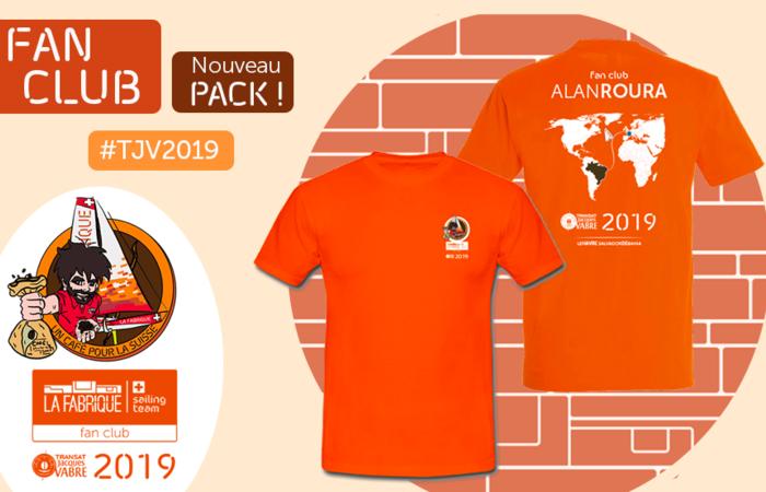 Fan Club : nouveau pack 2019 !