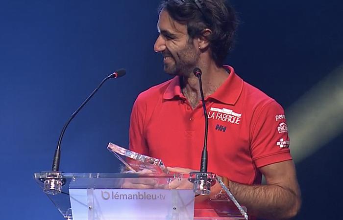 Prix Spécial du Jury pour Alan à la Nuit du sport genevois