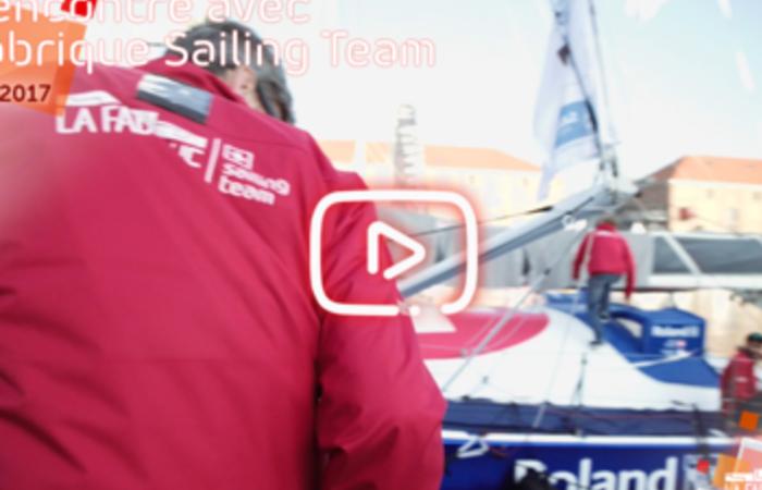 Rencontre avec La Fabrique Sailing Team